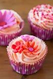 Queques deliciosos Imagem de Stock Royalty Free