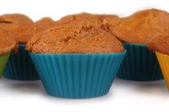 Queques do bolo de cenoura Imagem de Stock