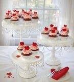 Queques do casamento Imagem de Stock Royalty Free