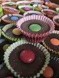 Queques do chocolate Imagem de Stock