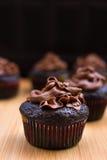 Queques do chocolate Foto de Stock Royalty Free