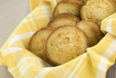 Queques do Cornbread Foto de Stock Royalty Free