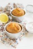 Queques do limão imagens de stock royalty free