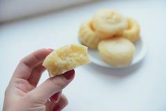 Queques do limão Fotos de Stock Royalty Free