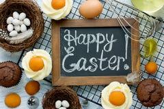 Queques do ovo da páscoa Imagem de Stock Royalty Free