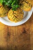 Queques do vegetariano Imagem de Stock Royalty Free