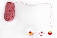 Queques feitos crochê Imagem de Stock