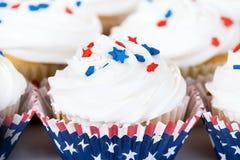 Queques patrióticos Fotografia de Stock