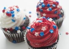 Queques que comemoram o feriado de América Imagem de Stock