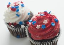 Queques que comemoram o feriado de América Fotografia de Stock