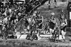 Quer-Vegas Cyclocross Stockbilder