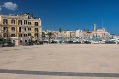 Quercia square. Trani. Apulia. Italy royalty free stock images