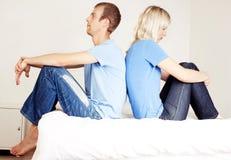 Querelle de mari et d'épouse Photographie stock libre de droits