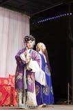 Querelle, distillateurs jinyuliangyuan d'opéra taiwanais photo libre de droits