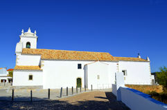 Querenca church of Nossa Senhora da Assuncao Stock Photography