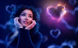 Querer amar Imagens de Stock Royalty Free