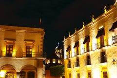 Queretaro τη νύχτα Ι στοκ φωτογραφία με δικαίωμα ελεύθερης χρήσης