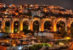 Queretaro akwedukt Obrazy Royalty Free