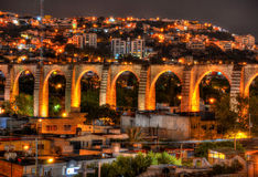 Queretaro Aqueduct royalty free stock images