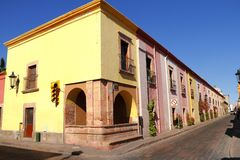 Queretaro architecture I Royalty Free Stock Photos