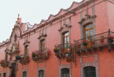 Queretaro architektura IX obraz royalty free
