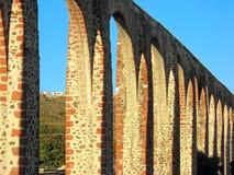 queretaro arcos los Мексики мост-водовода Стоковая Фотография RF