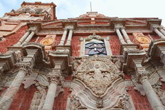 Queretaro cathedral II Royalty Free Stock Images