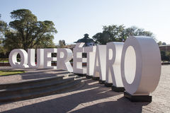 Queretaro. Is the name of one of the fastest growing cities in the Mexican Republic royalty free stock photos