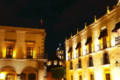 Queretaro at night I Royalty Free Stock Photo