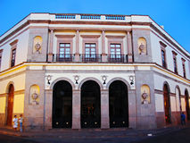 Queretaro's Teatro de la Republica. The historic Teatro de la Republica in Queretaro, Mexico royalty free stock photo