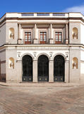 Queretaro - Teatro DE La Republica Royalty-vrije Stock Fotografie