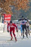 Querfeldeinskirennen Lizenzfreie Stockfotografie