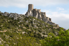 Queribus Cathar Castle Royalty Free Stock Photography