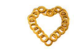 Querido como um presente para o dia do ` s do Valentim Imagem de Stock