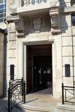 Querneigung-Eingang stockbild