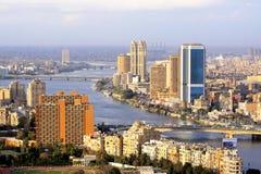 Querneigung von Ägypten Stockfoto