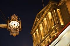 Querneigung von England, London stockbild