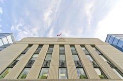 Querneigung von Kanada, Ottawa Stockbild