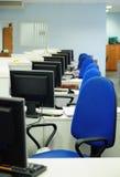 Querneigungbüro Stockbild