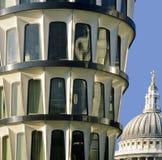 Querneigungstadt von London Lizenzfreie Stockfotografie