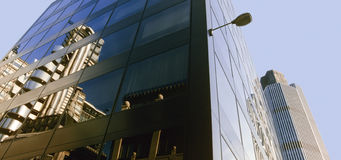 Querneigungstadt von London Stockbilder