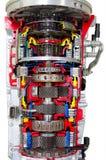 Querschnitt des automatischen Getriebes stockbilder