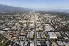 Querstations-Antenne Pasadena-Colorado stockfotografie
