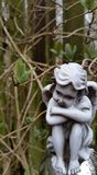 Querubim do jardim Imagem de Stock Royalty Free