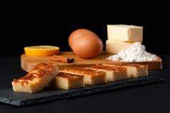Quesada en ingrediënten Royalty-vrije Stock Afbeelding