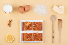 Quesada ingrediënten Stock Afbeelding