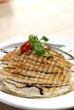 quesadilla κοτόπουλου Στοκ Φωτογραφία