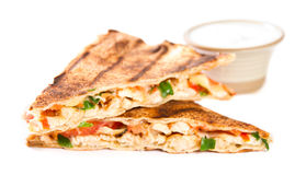 Quesadilla Royalty Free Stock Photo