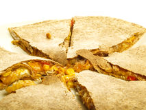 Quesadilla Foto de Stock Royalty Free
