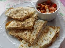 Quesadilla Stock Foto